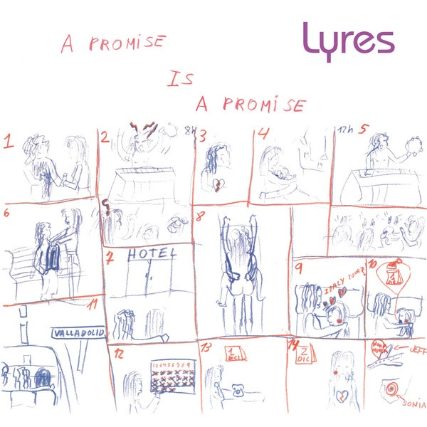 Cover LYRES, a promise is a promise