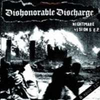 Cover DISHONORABLE DISCHARGE, nightmare