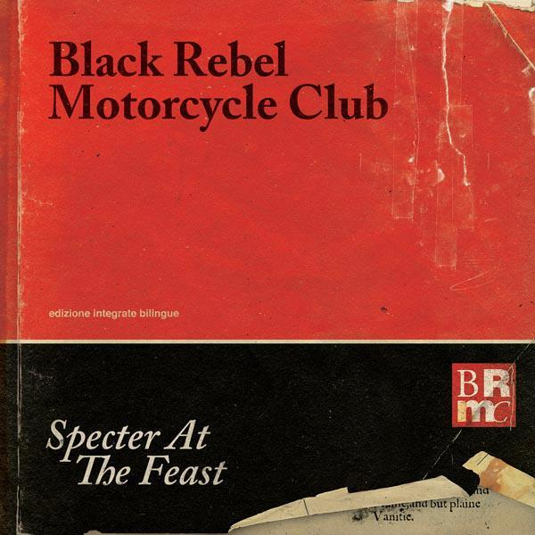 Cover BLACK REBEL MOTORCYCLE CLUB, specter at the feast