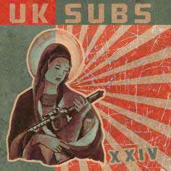 UK SUBS, xxiv cover