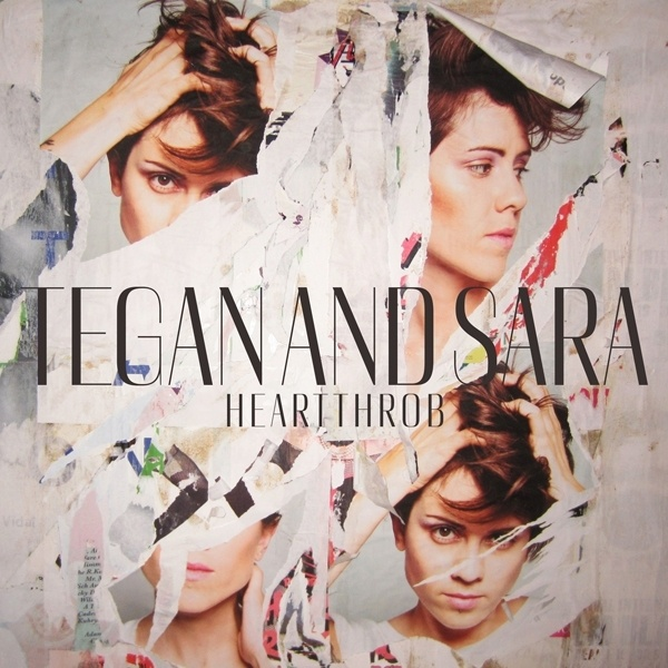 Cover TEGAN & SARA, heartthrob