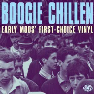 Cover V/A, boogie chillen (early mods choice vinyl)