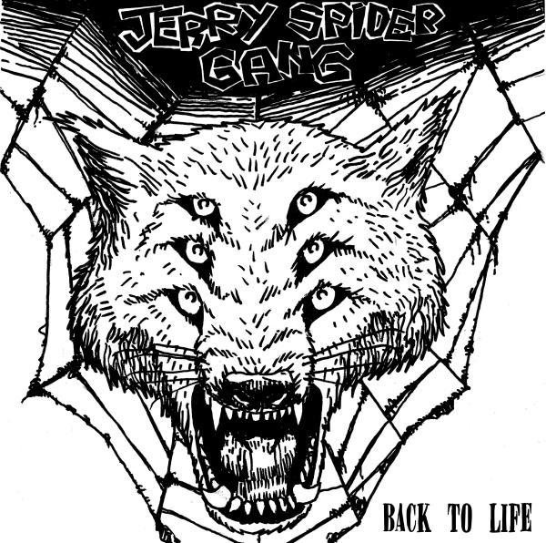 Cover JERRY SPIDER GANG, back to life