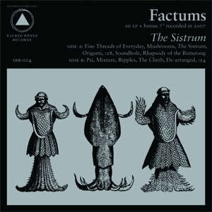 Cover FACTUMS, sistrum