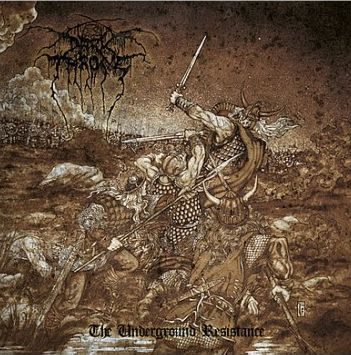 Cover DARKTHRONE, underground resistance