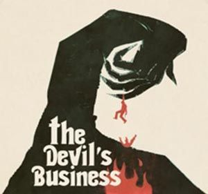Cover JUSTIN GREAVES, devil´s business