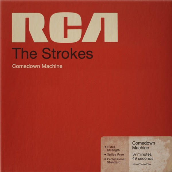 Cover STROKES, comedown machine