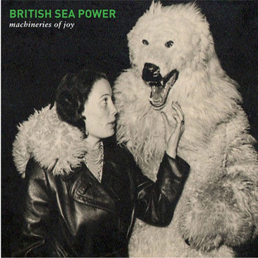 Cover BRITISH SEA POWER, machineries of joy