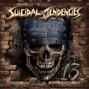 SUICIDAL TENDENCIES, 13 cover