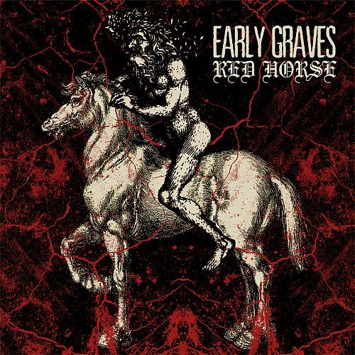 Cover EARLY GRAVES, red horse