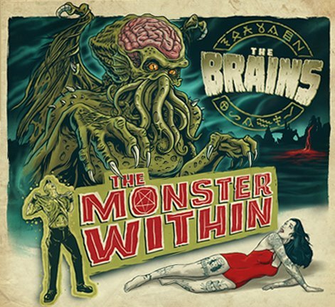 Cover BRAINS, monster within