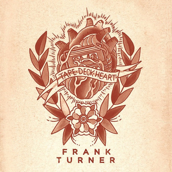 FRANK TURNER, tape deck heart cover