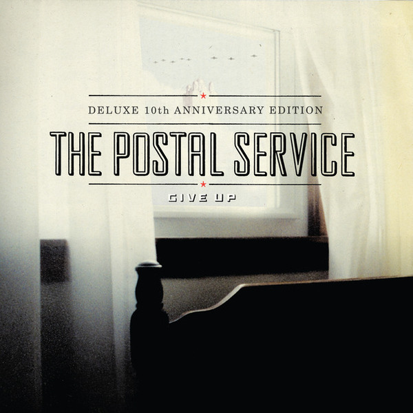 POSTAL SERVICE, give up (10th anniversary edition) cover