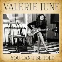 Cover VALERIE JUNE, you can´t be told