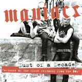 Cover MANIACS, dust of a decade
