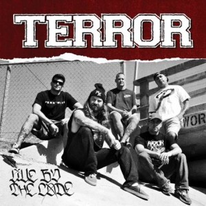 TERROR, live by the code cover