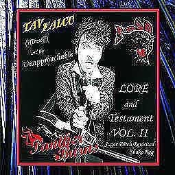Cover TAV FALCO & PANTHER BURNS, lore and testament 2