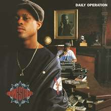 Cover GANG STARR, daily operation