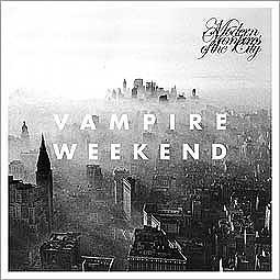 Cover VAMPIRE WEEKEND, modern vampires of city