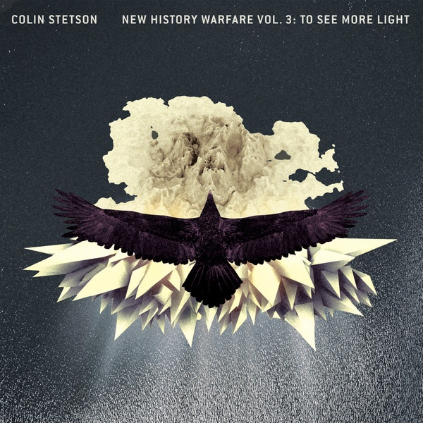 COLIN STETSON, new history warefare vol. 3 cover