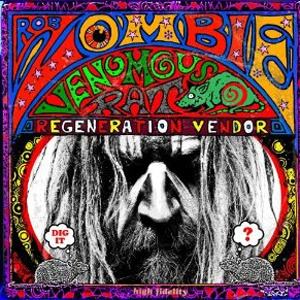 Cover ROB ZOMBIE, venomous rat regeneration vendor