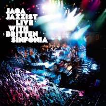 Cover JAGA JAZZIST, live with britten sinfonia