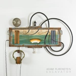 Cover ADAM RUBENSTEIN, excavator