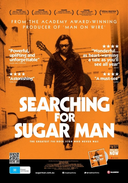 Cover MOVIE, searching for sugar man