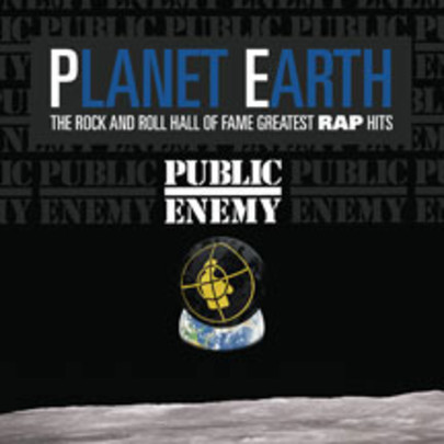 Cover PUBLIC ENEMY, planet earth: the rock and roll hall of fame