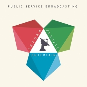 Cover PUBLIC SERVICE BROADCASTING, inform-educate-entertain