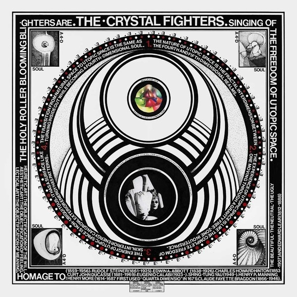 Cover CRYSTAL FIGHTERS, cave rave