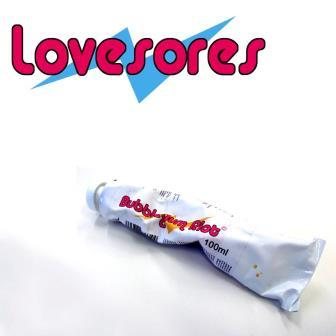 Cover LOVESORES, bubblegum riot