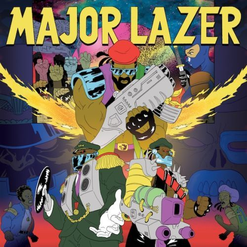Cover MAJOR LAZER, free the universe