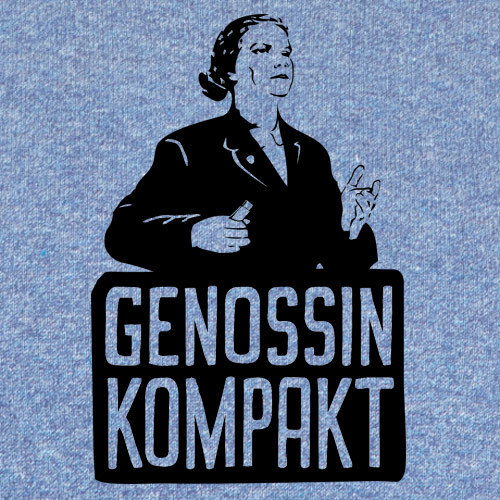 Cover STEFAN CLAUDIUS, genossin kompakt (boy), mid heather blue