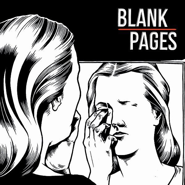 BLANK PAGES, s/t cover