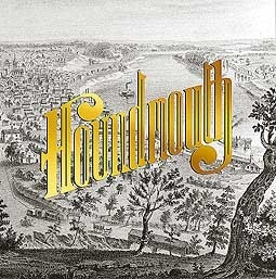 Cover HOUNDMOUTH, from the hills below
