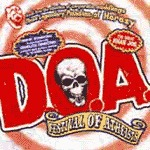 D.O.A., festival of atheists cover