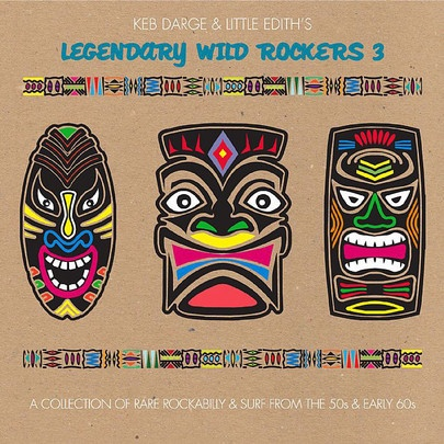 Cover KEB DARGE & LITTLE EDITH, legendary wild rockers 3