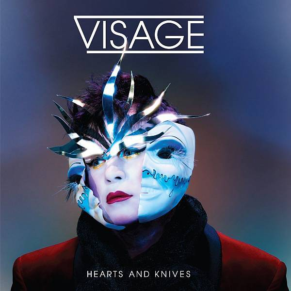 Cover VISAGE, hearts & knives