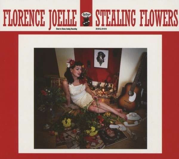 Cover FLORENCE JOELLE, stealing flowers