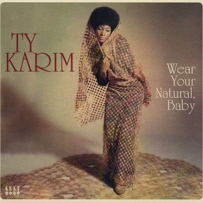 TY KARIM, wear your natural, baby cover