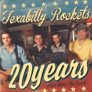 Cover TEXABILLY ROCKETS, 20 years rollin´ down the track