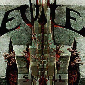EVILE, skull cover