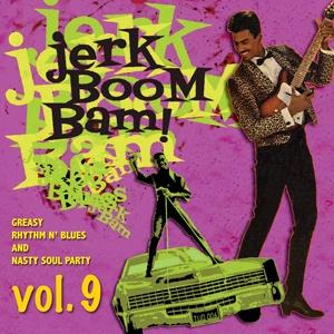 V/A, jerk! boom! bam! vol. 9 cover