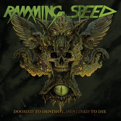 RAMMING SPEED, doomed to destroy, destined to die cover