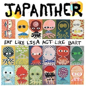 Cover JAPANTHER, eat like lisa act like bart