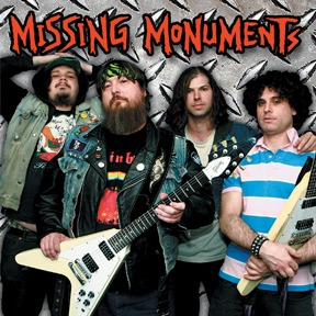 Cover MISSING MONUMENTS, s/t