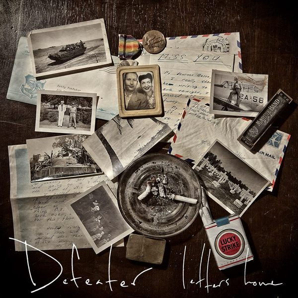 Cover DEFEATER, letters home