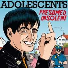 Cover ADOLESCENTS, presumed insolent