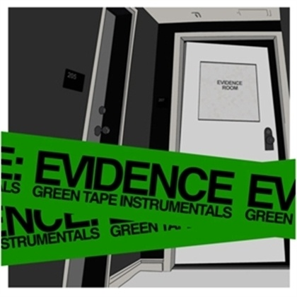 Cover EVIDENCE (DILATED PEOPLES), green tape instrumentals
